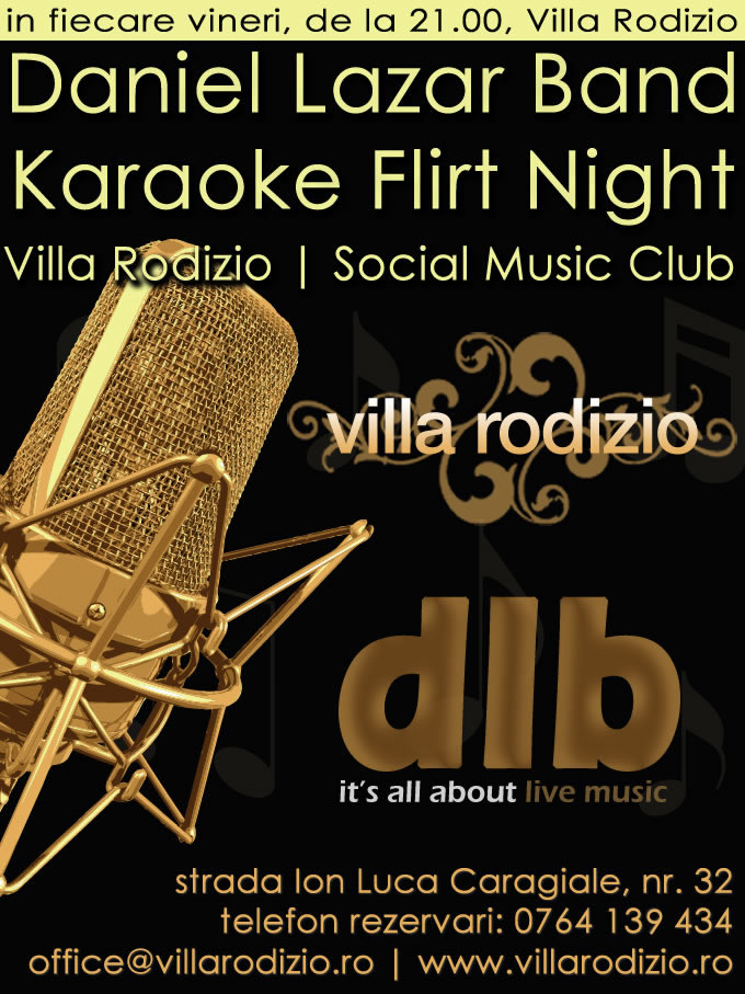 Villa Rodizio Bucuresti | Karaoke Flirt Night in Bucuresti