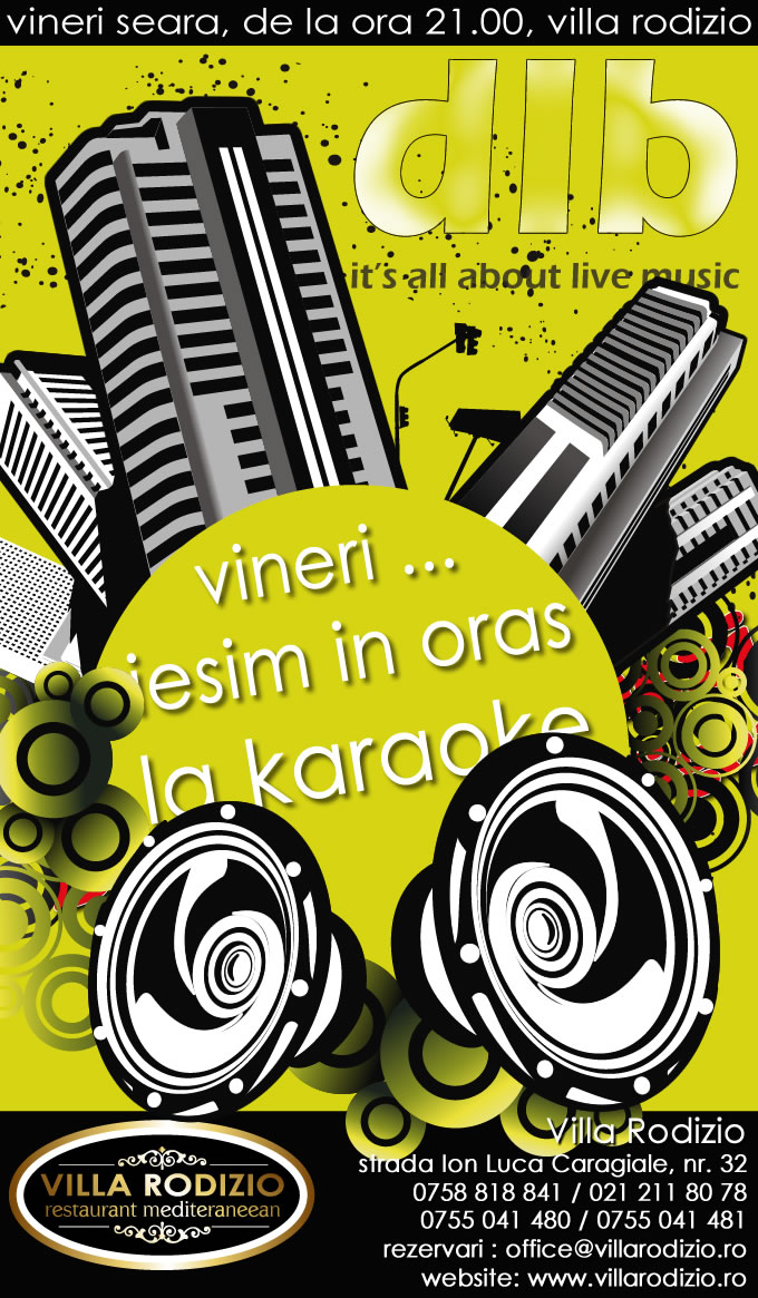 Karaoke Bucuresti | Karaoke Live Night @ Villa Rodizio
