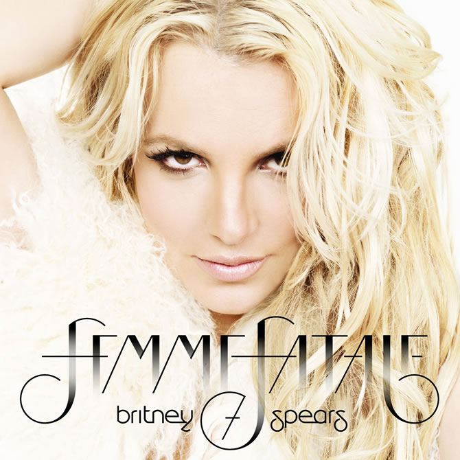 Britney Spears - Femme Fatale (Official Album Cover)