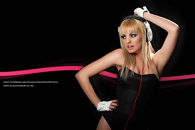 Photo Shooting | Alexandra Stan @ Tania Red