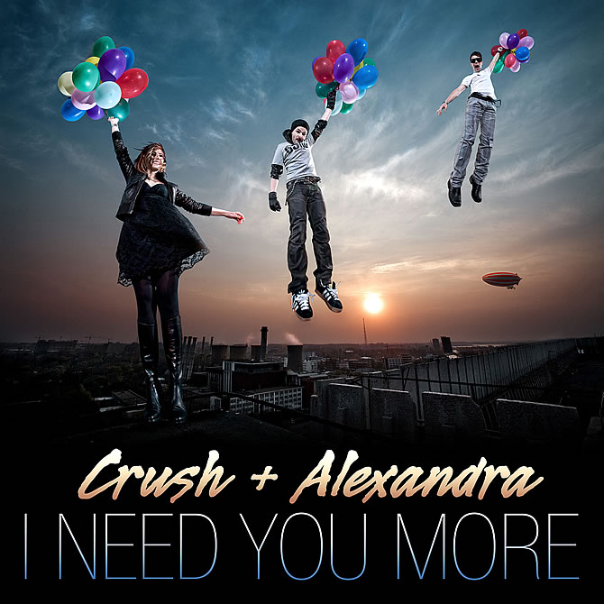 Crush si Alexandra Ungureanu - I need you more