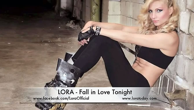 Muzica Noua | Lora - Fall in love tonight