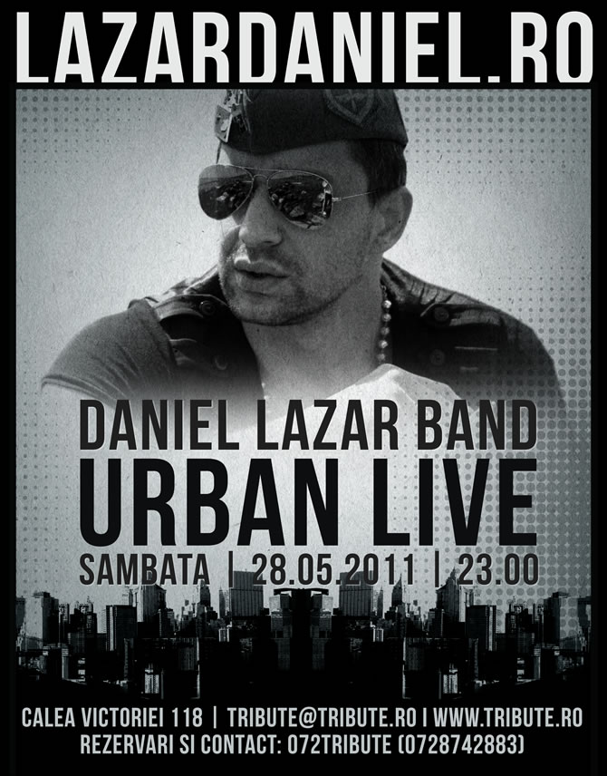 Concerte in Bucuresti | Urban Live @ Tribute Club