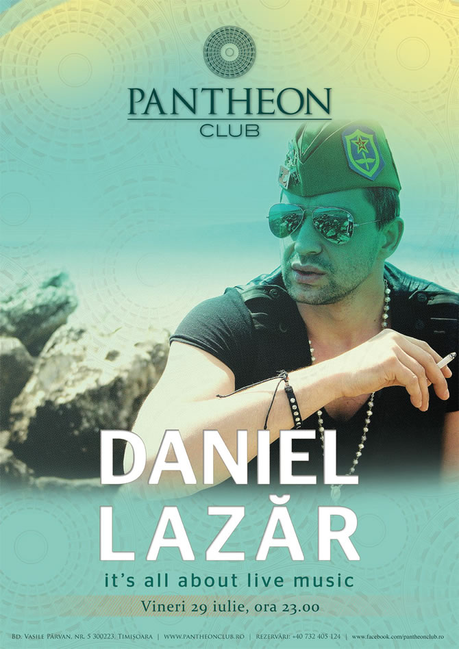 Daniel Lazar Band @ Pantheon Club Timisoara