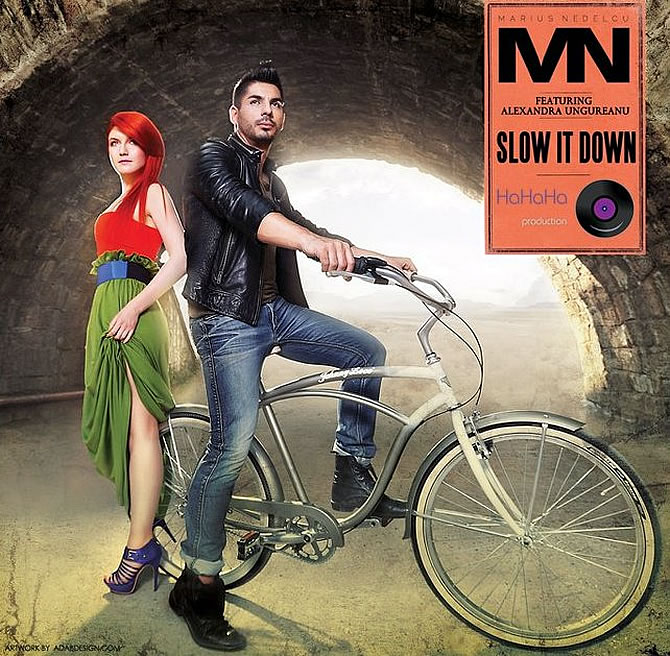Marius Nedelcu featuring Alexandra Ungureanu - Slow It Down