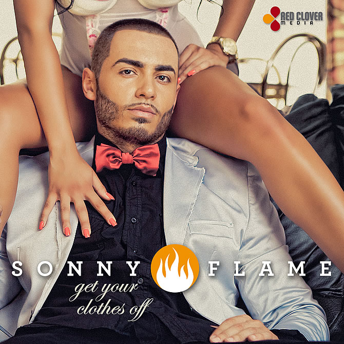 Comunicat de Presa | Sonny Flame - Get Your Clothes Off