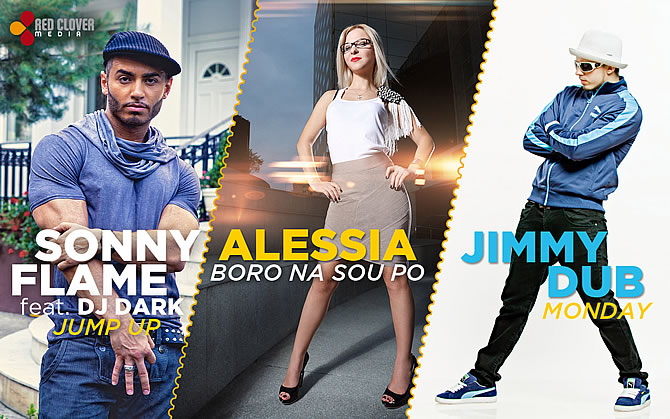 Romanian Top Hits 2011 | Alessia, Sonny Flame si Jimmy Dub, castigatori la Romanian Top Hits