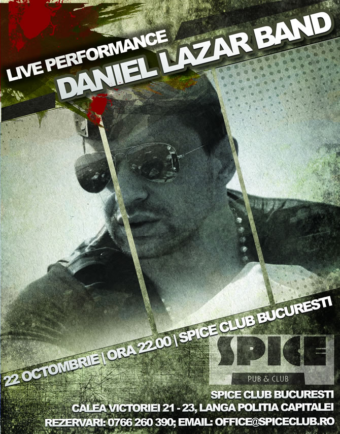 Concerte in Bucuresti | Live Music Sessions @ Spice Club | Sambata, 22 octombrie