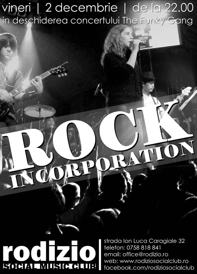Rock Incorporation @ Rodizio Social Music Club