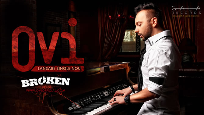 "Ovi a lansat un nou single, ""Broken"""