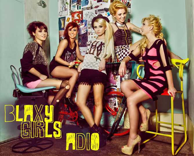 "Fetele de la Blaxy Girls au lansat un nou single, ""Adio"""