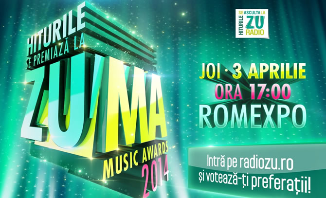 Radio ZU a anuntat ZUMA - ZU Music Awards
